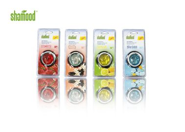 Four Fragrance Membrane Liquid Car Air Freshener ผลิตภัณฑ์ Aromatic